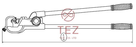 Kìm Ép COS Tròn Trần Cỡ Lớn LOBSTER AK60-AK100